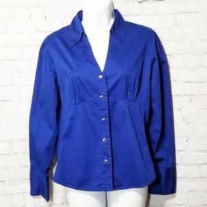 Banana Republic button down long sleeve blouse L